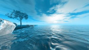 BLUE WORLD by Topas2012