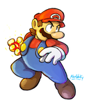 Super Mario by Alex-Wolfy