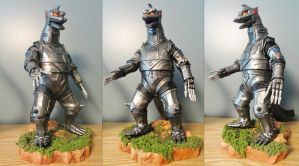 Billiken Mechagodzilla 75 by Legrandzilla