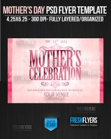 Mother's Celebration PSD Flyer Template by ImperialFlyers
