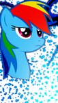 iPhone 5 Rainbow Dash Wallpaper by Game-BeatX14