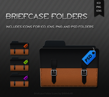 Briefcase Folders by B4lth4s4R