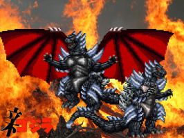 'Superbeast' - Satan Godzilla by GIGAN05