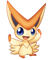 Victini by Solar-Slash