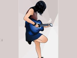 A Guitarrista by webthi