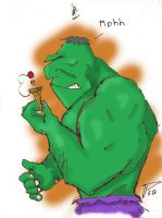 Quick and fun Hulk by Pegarissimo