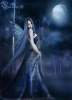 Midnight fairy... by moonchild-ljilja