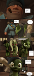 Strict Soldier and Blitzkrieg comic page 3 by GaryD12