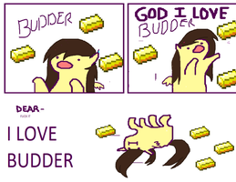 Butter Blossom in a nutshell by lolhooplacatz