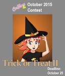 2015 October Contest: Trick or Treat II by TomoyoIchijouji