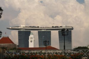 Marina Bay  Towers by cscmatrix