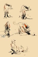 Story18-Maned Wolf Hunt Strip by AnDary