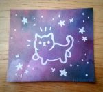 Meow (in space) by OEmilyThePenguinO