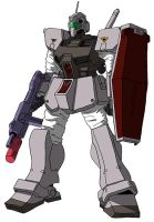 RGM-79D GM Cold Climate Type by unoservix