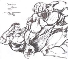 Venom vs Omni-Man DSC by NexusDX