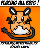 Dedenne by thegamingdrawer