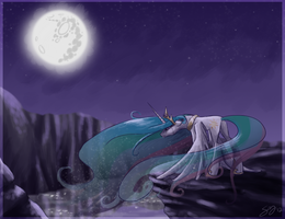 Mare in the Moon by probablyfakeblonde