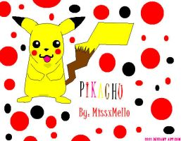 Pickachu by missxmello