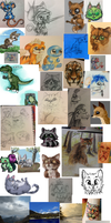 sketch dump and unfinished stuff by Chipmeow
