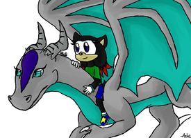 Hey look I drew Ashe and Silverwind again by ashe-the-hedgehog