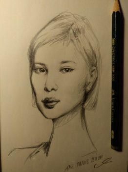 Anh Phuong Portrait by nackmu