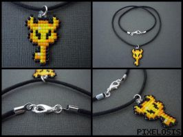 Boss Key Necklace by Pixelosis