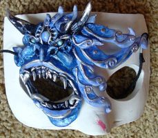 Icy Demon Eye Mask by Namingway