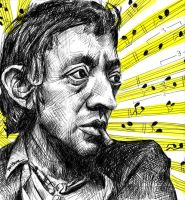 Serge Gainsbourg by BenHeine