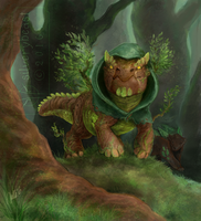 Guardian of the Forest | CM by silverybeast