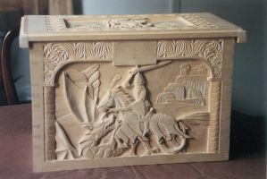 ' Mahogany ' Renaissance Chest by JARM13