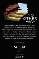 Back of No other way by ArtisinmyHeart