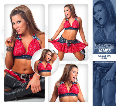Photopack #246 - Mickie James. by TheNightingale01