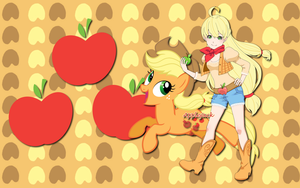 Human Apple Jack WP by AliceHumanSacrifice0