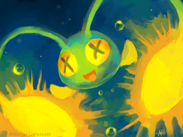 Chinchou by MusicalCombusken