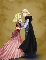 Teenage Lucius And Narcissa by MuZzling