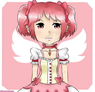 Madoka by AryannaDraws