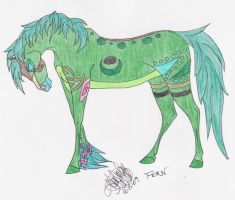 Equine Fern by Sylver-Nyx