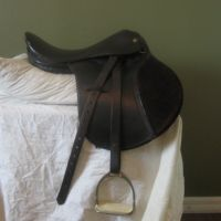 English Saddle 01 by TrapDoor-Stock