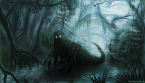 Swamp Beast by JKRoots