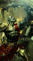 Kratos - The God Of War by urban01-C