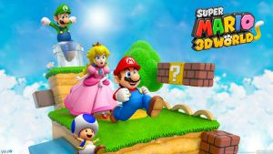 Super Mario 3D World - Wide by AleNintendo