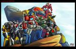 G1Autobots Commission by Th4rlDEAL