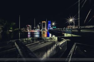Jville City Lights by RoyalImageryJax