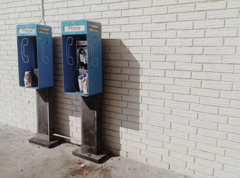 Pay phones by RickManuel
