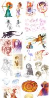 sketchdump autumn 12 by POISON-FREE
