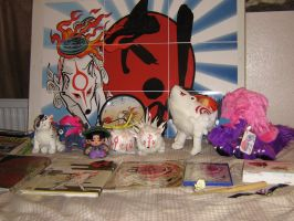 My Okami Collection update. 2. by Skunk-Mantra