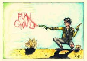 Fun Ghoul by BurningSpinKilljoy