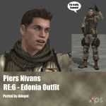Piers Nivans RE6 Edonia Outfit by Adngel