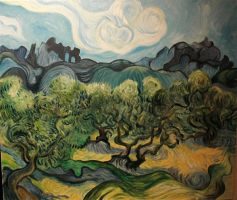 Van Gogh tribute by maproject