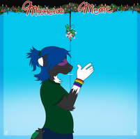 Xepher Mistletoe Meme by JumiKazu